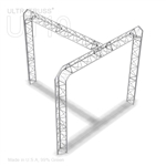 Addison - 10 Ft X 10 Ft Triangle Aluminum Truss Booth