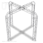 Lily - 10 Ft X 10 Ft Triangle Aluminum Truss Booth