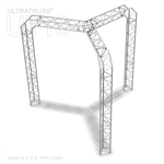Grace - 10 Ft X 10 Ft Triangle Aluminum Truss Booth