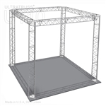 Avery - 10 Ft X 10 Ft Triangle Aluminum Truss Booth