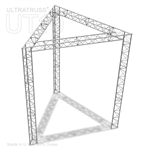 Alma - 10 Ft X 10 Ft Triangle Aluminum Truss Booth