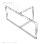 Zoey - 10 Ft X 20 Ft Triangle Aluminum Truss Booth