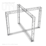 Zoe - 12 Ft X 12 Ft Triangle Aluminum Truss Booth