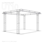 Layla - 16 Ft X 16 Ft Triangle Aluminum Truss Booth