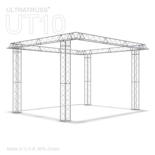 LAYLA - 16FT X 16FT TRIANGLE ALUMINUM TRUSS BOOTH