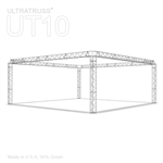Anna - 20 Ft X 20 Ft Triangle Aluminum Truss Booth