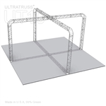 Taylor - 20 Ft X 20 Ft Triangle Aluminum Truss Booth