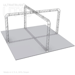 Brianna - 20 Ft X 20 Ft Triangle Aluminum Truss Booth