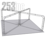 Sophie - 27 Ft X 27 Ft Triangle Aluminum Truss Booth
