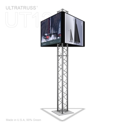 9 Ft UT12 Aluminum Triangle Truss Monitor Stand