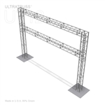 20ft x 14ft Aluminum Ultratruss Box Truss Arch