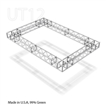 LINDA12 ft x 8 ft triangle AluminumBox truss cloud