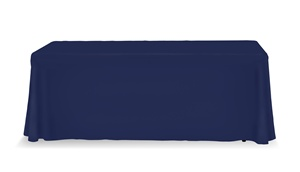 6FT TABLE THROW STOCK 4-SIDED (NO PRINT)