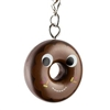 Kidrobot Yummy World Attack of the Donuts Keychain Series - Chocolate Frosted Chocolate (2/24)