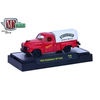 M2 Machines - Auto-Trucks (R36) - 1952 Studebaker 2R Truck (Red)