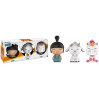 Funko Despicable Me Dorbz Agnes, Lucky & Fluffy Vinyl Figure 3-Pack