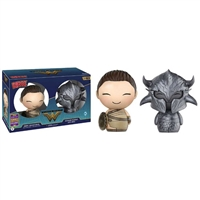 Funko DC Dorbz Wonder Woman & Ares Vinyl Figure 2-Pack