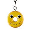 Kidrobot Yummy World Attack of the Donuts Keychain Series - Yellow Frosted (2/24)