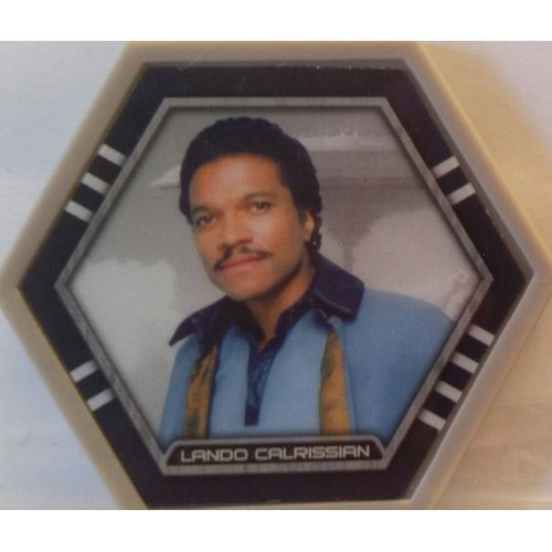 Star Wars Galactic Connexions - Lando Calrissian - Gray/Standard - Common