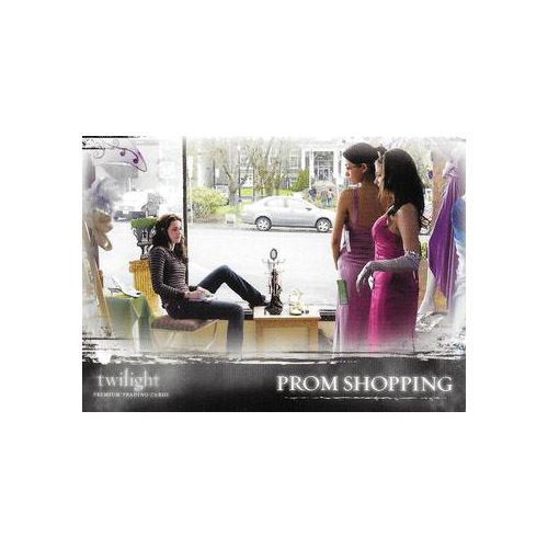 Twilight Premium Trading Cards - Card #40 - Prom Shopping
