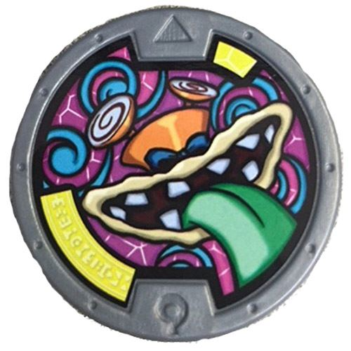 Yo-Kai Watch Series 2 Dummkap Medal [Loose]