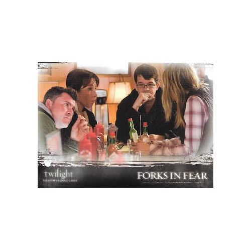 Twilight Premium Trading Cards - Card #55 - Forks in Fear