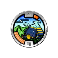 Yo-Kai Watch - Series 3 Medal - Armsman (2/24)