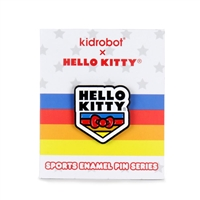 Kidrobot Hello Kitty Sports Enamel Pin Series - Hello Kitty Badge