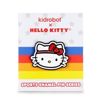 Kidrobot Hello Kitty Sports Enamel Pin Series - Hello Kitty
