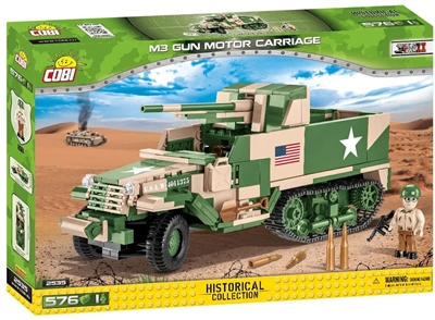 COBI Historical Collection - M3 Gun Motor Carriage