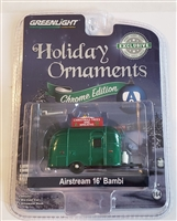 Greenlight Collectibles - Airstream 16' Bambi Holiday Ornament Chrome Edition (Chase)