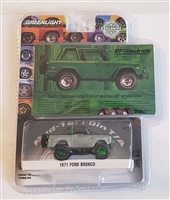 Greenlight Collectibles BFGoodrich - 1971 Ford Bronco (Chase)