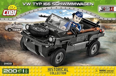 COBI Historical Collection - VW TYP I66 Schwimmwagen