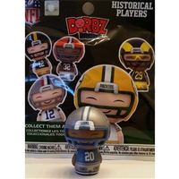 Funko NFL Mini Dorbz Historical Player Series - Detroit Lions - Barry Sanders