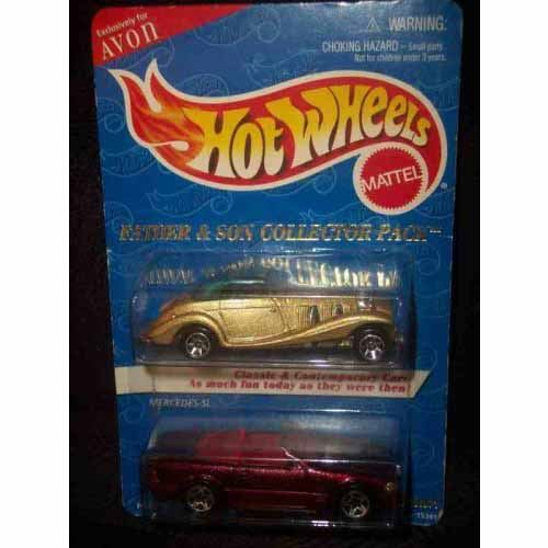 Avon Father & Son 2-Pack Mercedes 54k & Mercedes 500 SL