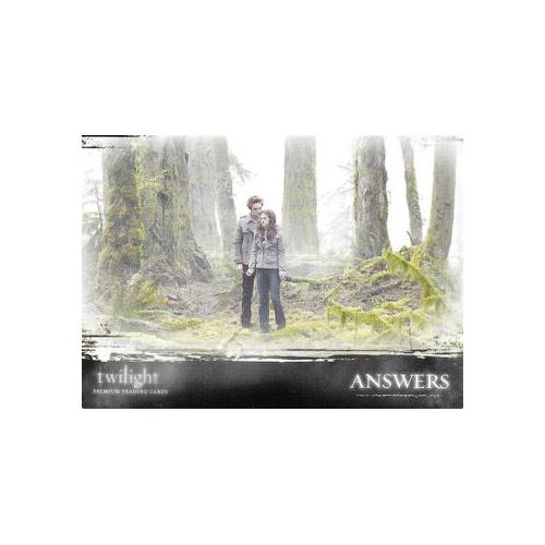 Twilight Premium Trading Cards - Card #43 - Answers