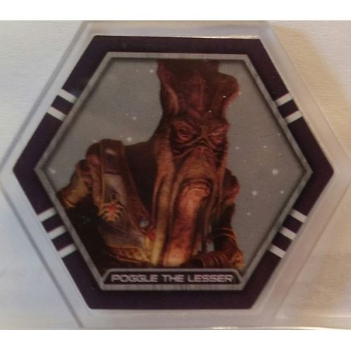 Star Wars Galactic Connexions - Poggle the Lesser - Clear/Standard - Rare