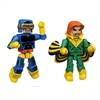 Marvel Minimates - Giant-Size X-Men - Cyclops & Banshee