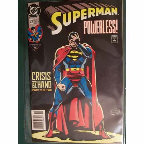 Superman #72 - Crisis At Hand Part 2 of 2