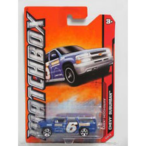 2012 Highway - Chevy Suburban Channel 6 News - Blue (9/10)