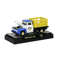 M2 Machines - Moon Pie Series (MN01) - 1956 Ford F-100 (Blue, White & Yellow)