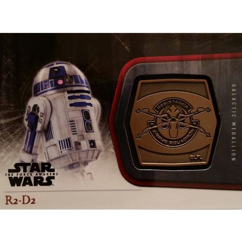 2015 The Force Awakens Series 1 - R2-D2 Bronze Medallion M-13