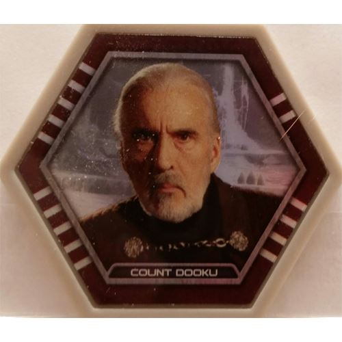 Star Wars Galactic Connexions - Count Dooku - Gray/Holographic Foil - Common