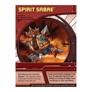 Ability Card - Spirit Sabre