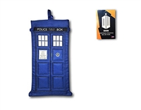"Kurt Adler 18"" Holiday Stocking- Doctor Who TV Series Blue Tardis"