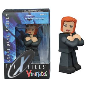 Diamond Select-Vinimates- The X-Files Agent Dana Scully Figure