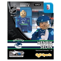 OYO- NHL Vancouver Canucks - Henrik Sedin - Home Uniform (G2S4)
