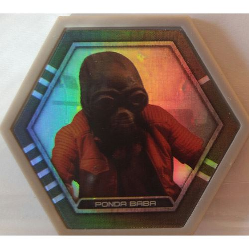 Star Wars Galactic Connexions - Ponda Baba - Gray/Holographic Foil - Common