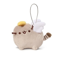 "GUND Pusheen Blind Box Series 5 - Holiday Cheer 3"" Plush Ornament - Pusheen Angel"