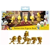 PhatMojo - SDCC 2018 DuckTales Five Piece Golden Figure Set